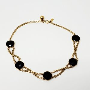 Kate Spade Connect Four Twist Gold Necklace